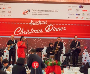 CCIC Christmas Gala Dinner in Suzhou