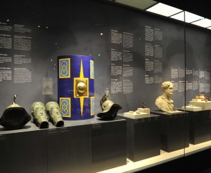 """The Eternal City. Splendour of Ancient Rome"" exhibition in Chengdu Jinsha Site Museum"